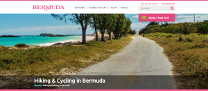 Walking & Cycling in Bermuda is one example of the type of content I researched and wrote for the Bermuda Tourism website.